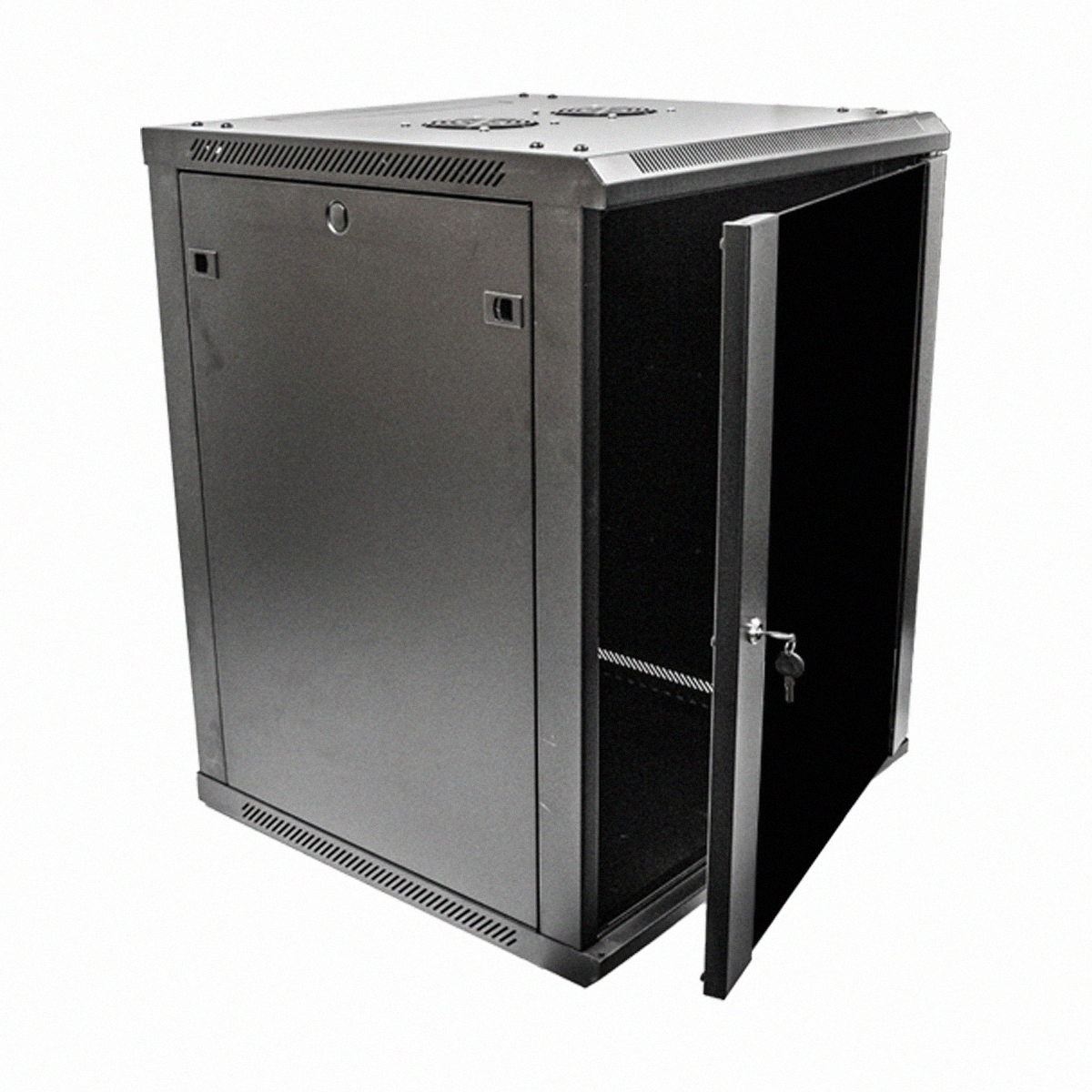 15u wall mount network server data cabinet 24 inch depth for 30 inch deep kitchen cabinets