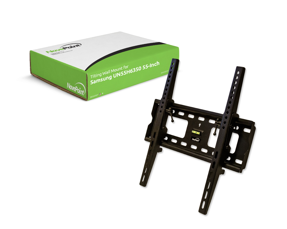 tilting samsung 55 inch tv wall mount bracket tilt for un55h6350 ebay. Black Bedroom Furniture Sets. Home Design Ideas